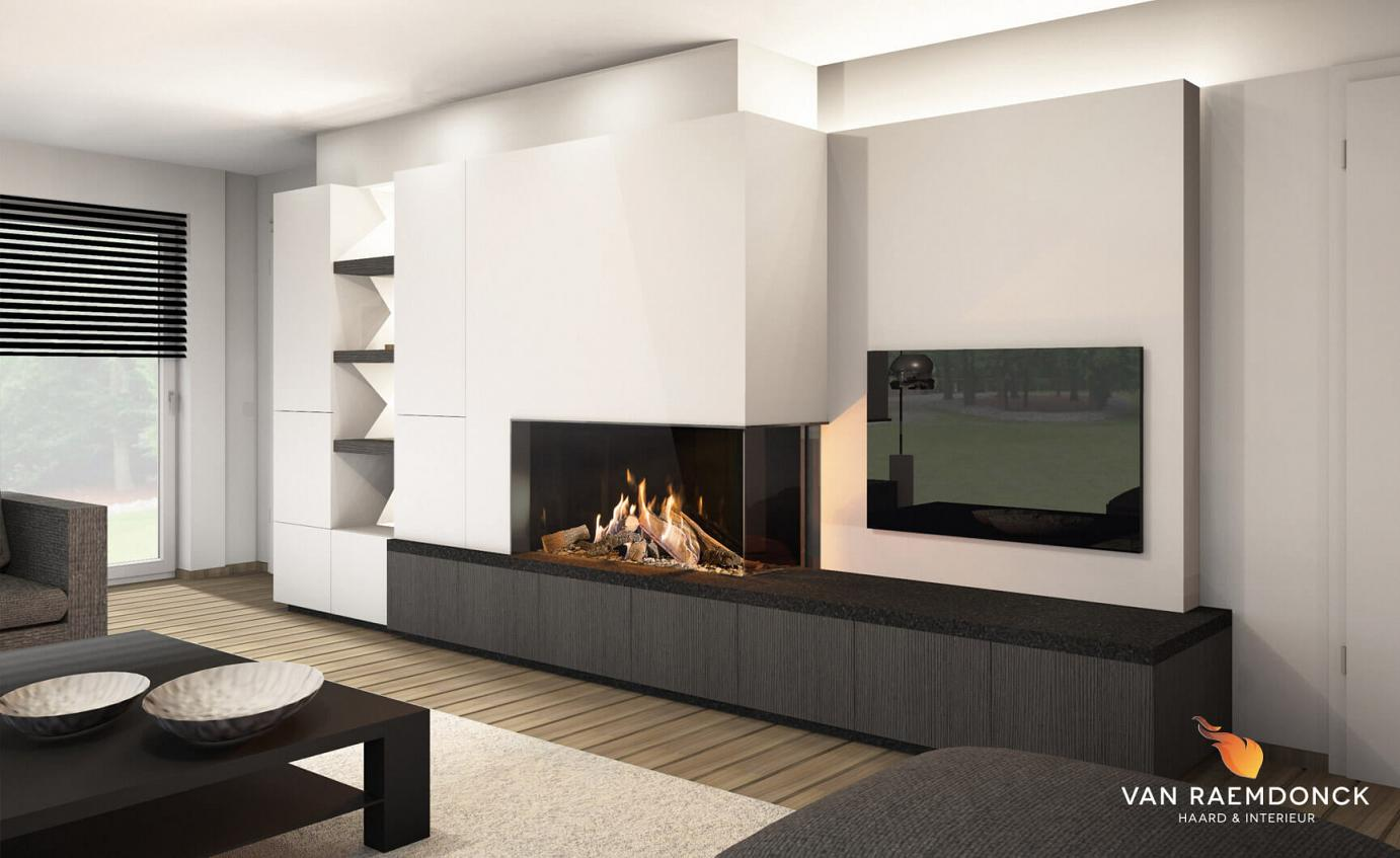 design tv meubel van raemdonck haard interieur. Black Bedroom Furniture Sets. Home Design Ideas